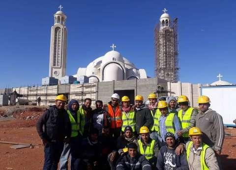 عمال الكاتدرائية: «هنشوف إنجازنا من التليفزيون»