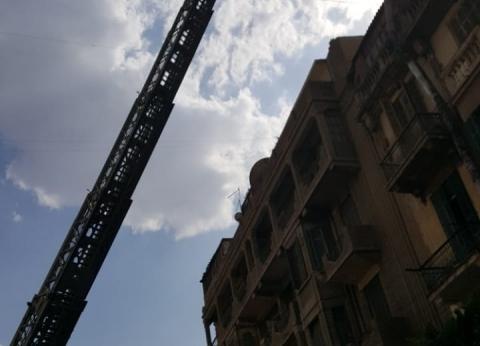 السيطرة على حريق التهم محتويات شقة في البحيرة