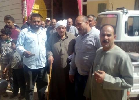 كبار السن يتصدرون مشهد الانتخابات الرئاسية بكفر سعد في دمياط