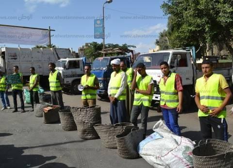 محافظ الإسماعيلية يتابع بدء التشغيل التجريبي لمصنع تدوير القمامة