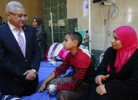2 مليون جنيه إعانات لـ9200 طالب وطالبة بجامعة المنيا