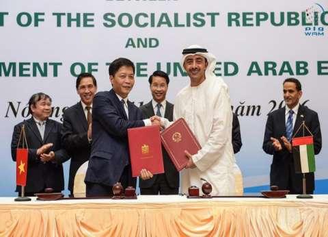 عبدالله بن زايد يترأس وفد بلاده في أعمال اللجنة العليا المشتركة بين الإمارات وفيتنام