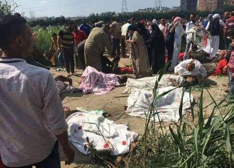 عاجل| السكة الحديد تشكل لجنة للتحقيق في حادث قطاري الإسكندرية