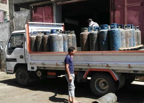ضبط صاحب مستودع بوتاجاز باع 170 أسطوانة بالسوق السوداء بأسيوط