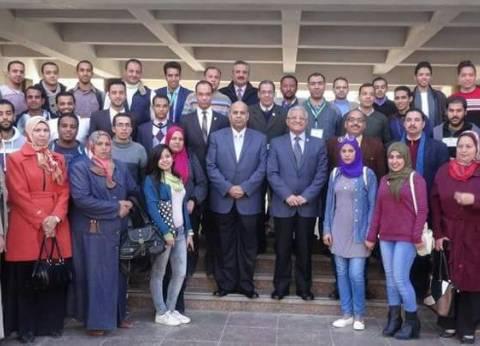خالد رشاد رئيسًا لاتحاد طلاب جامعة المنيا وعلاء دردير نائبًا
