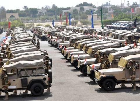 بالصور| القوات المسلحة تؤمن 18945 مقرا انتخابيا في 14 محافظة