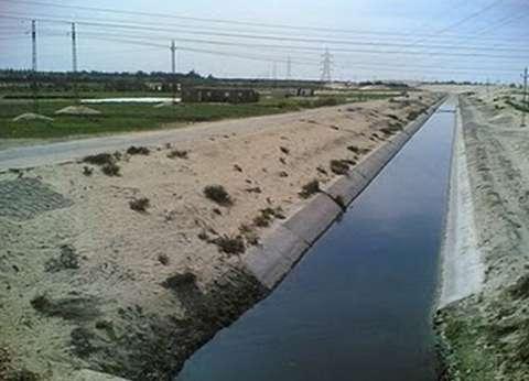 تطهير 171 مترا من المصارف الزراعية والمراوي في كفر الشيخ