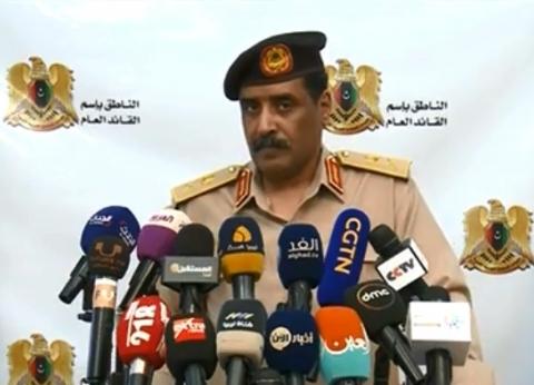 """""""الجيش الليبي"""": ضرورة محاربة كل وسائل دعم الإرهابيين وخصوصا قطر"""