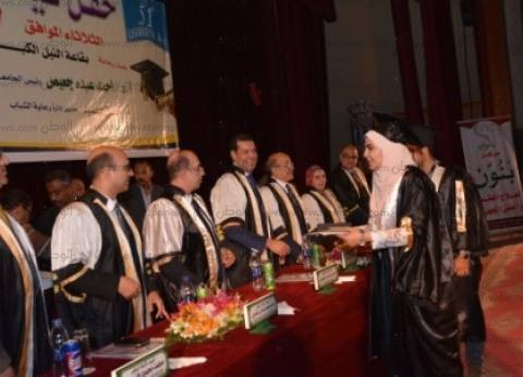 رئيس جامعة أسيوط يشهد الاحتفال بتخريج الدفعة 51 من طلاب كلية الطب