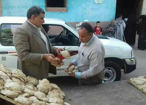 تحرير 43 محضر تموين بمركز دير مواس في المنيا
