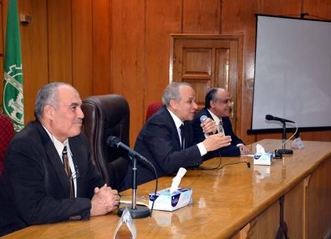 """محافظ القليوبية يعقد اجتماعا لشرح مميزات شهادة """"أمان"""" للمصريين"""