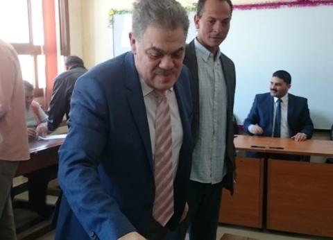 السيد البدوي يُدلي بصوته بلجنة الوافدين في قويسنا