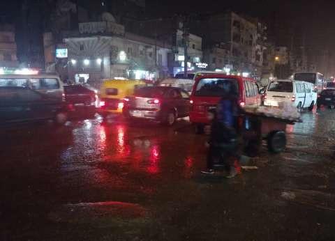 """بالصور  """"بشائر النوة"""".. ثلوج وأمطار غزيرة تضرب الإسكندرية"""