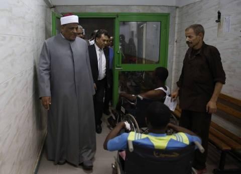 الإمام الأكبر يتابع حادث الحريق بمدينة البعوث ويكلف بالتحقيق الفوري