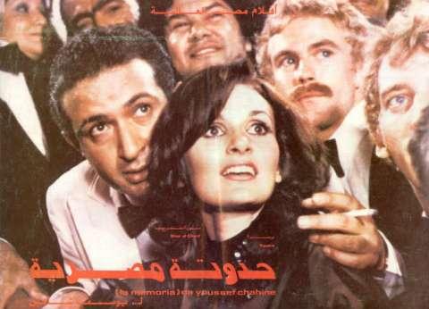 """""""المصير"""" و""""حدوتة مصرية"""".. لقاء الراحلين نور الشريف ويوسف شاهين"""