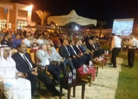 بالصور| محافظ جنوب سيناء يحتفل مع أيتام بالذكرى الـ43 لانتصار أكتوبر