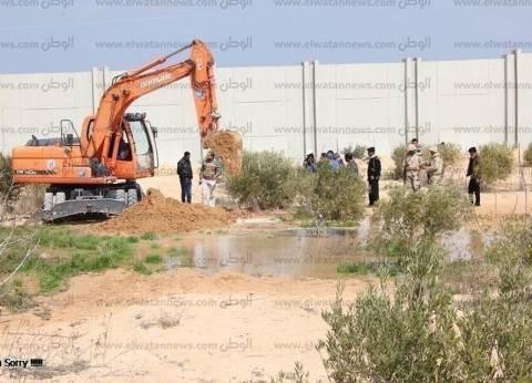 حملة لإزالة الإشغالات والمخالفات بالقاهرة الجديدة