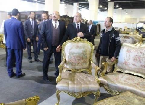 """""""عبد الحميد"""": معرض """"صنع في دمياط"""" مبيعاته تصل لـ10ملايين جنيه"""
