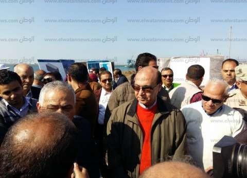 مهاب مميش: ندرس 7 عروض عالمية لإدارة الأرصفة البحرية شرق بورسعيد