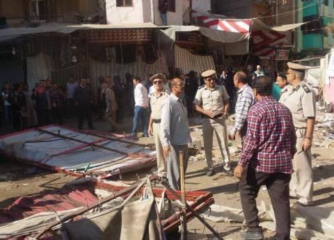 """""""أمن القاهرة"""": تنفيذ 650 قرار إزالة وتحرير 105 محاضر إشغال طريق"""