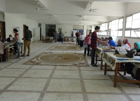 بدء الكشف الطبي للطلاب الجدد بجامعة المنيا