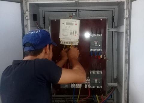 إحلال وتجديد عدادات الكهرباء القديمة بجديدة إلكترونية بوسط الإسكندرية