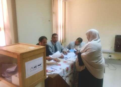 إعلان نتيجة انتخابات مجلس إدارة صندوق التأمين بجامعة المنيا