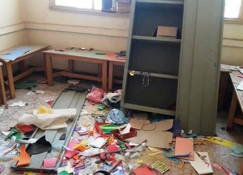 """سرقة مدرسة مرتين بأسوان والمسؤولين يلجئون للاستغاثة عبر """"فيسبوك"""""""