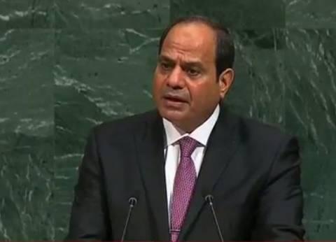 بالفيديو| النص الكامل لكلمة الرئيس السيسي في الأمم المتحدة