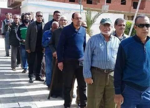تزايد أعداد الناخبين ظهر ثاني أيام الانتخابات في الأربعين بالسويس