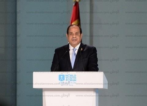 الرئيس السيسي يؤكد أهمية استمرار التنسيق مع الملك سلمان
