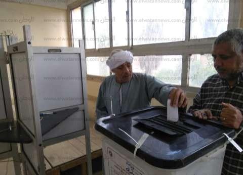 انتظام التصويت بلجان الاستفتاء على التعديلات الدستورية بالمنوفية