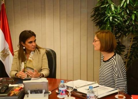 وزيرة التعاون الدولي تبحث تنفيذ مشروعات 5 قطاعات بمساعدات أمريكية