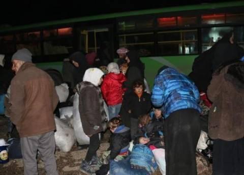 وصول الدفعة الثالثة من المدنيين والمعارضة في حلب إلى ريف إدلب