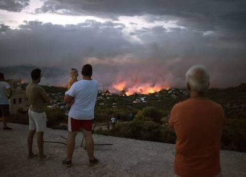 ارتفاع حصيلة ضحايا الحرائق في اليونان لـ88 قتيلا