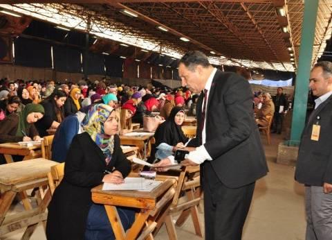 نائبا رئيس جامعة عين شمس يتفقدان امتحانات الكليات