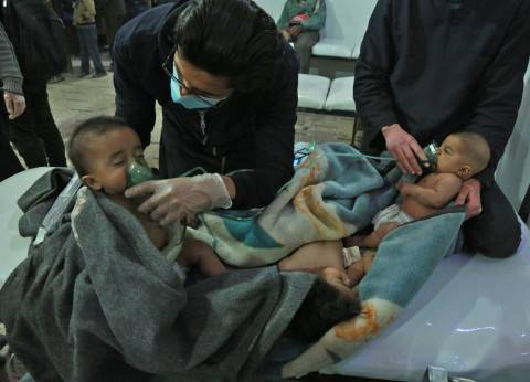 عاجل| الخارجية الأمريكية: نتابع بحذر ما يحدث في الغوطة الشرقية