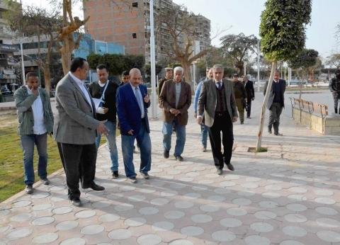 افتتاح مشروعات صرف ومصانع وتطوير الكورنيش في العيد الـ«100» للمنيا