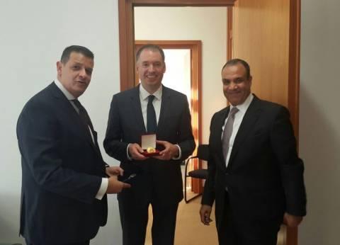 طارق رضوان يلتقي وزير الشؤون الخارجية الألماني تمهيدا لزيارة عبدالعال