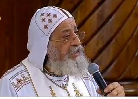 البابا تواضروس بعد تدشين الكاتدرائية: الله يملك هذه الكنيسة ويعمل فيها