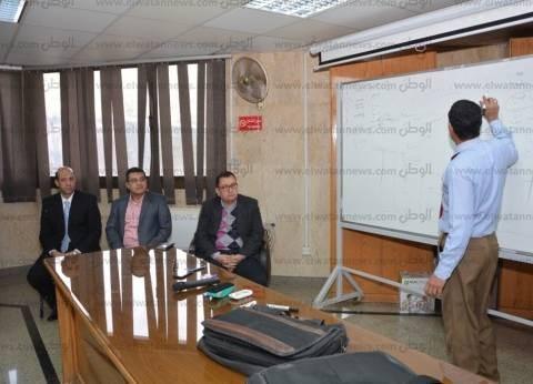 """""""البرنامج التدريبى لمنظومة GFMIS"""" ورشة عمل بجامعة أسيوط"""