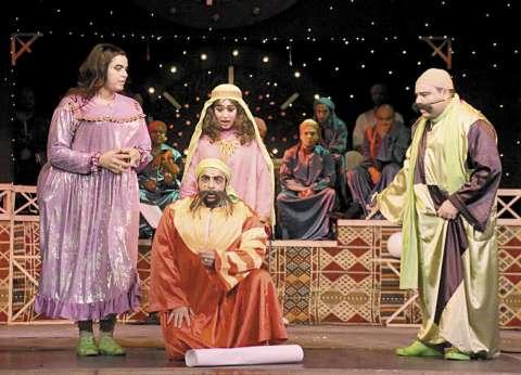 «السيرة الهلامية».. عرض مسرحى يتناول «انتقام هاملت» بكوميديا صعيدية