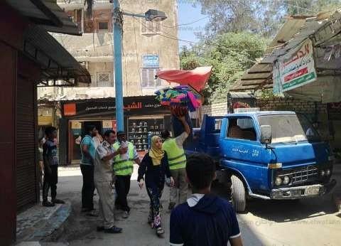 رفع 424 حالة إشغال بمدينة الدلنجات خلال أسبوع في البحيرة
