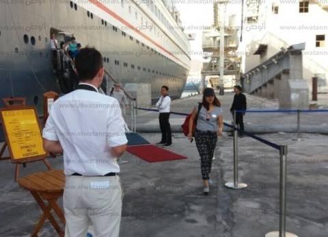وصول وسفر 350 ألف راكببموانئ البحر الأحمر خلال النصف الأول من 2017