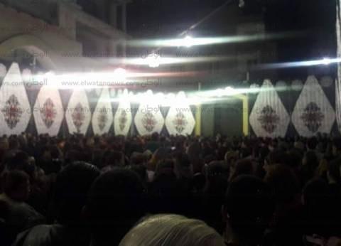 إقامة الصلوات على ضحايا تفجير كنيسة مار جرجس بطنطا