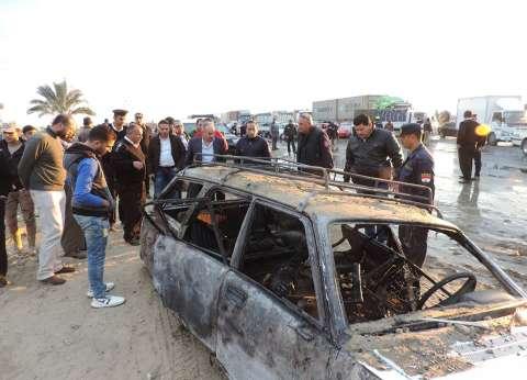 """إعادة فتح طريق """"بورسعيد - الإسماعيلية"""" بعد غلقه لساعات"""