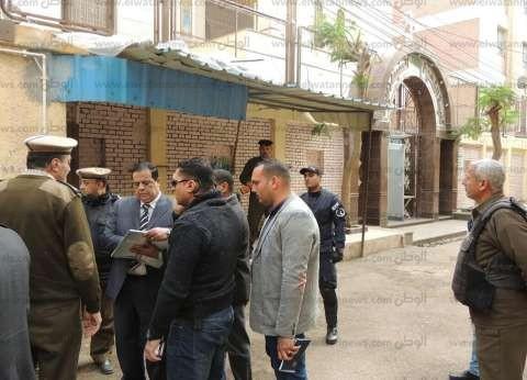 مدير امن كفر الشيخ يتفقد خدمات تأمين الكنائس