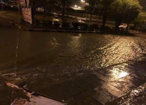 أمطار غزيرة وموجة من الطقس السيئ تضرب الإسكندرية