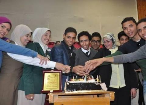 كلية التربية النوعية بالمنيا تحتفل بعيد الأم