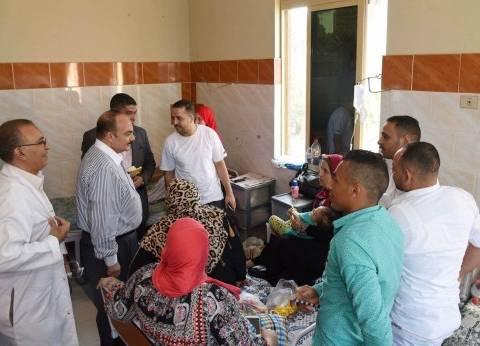 محافظ الإسكندرية يزور مستشفى أطفال الأنفوشي
